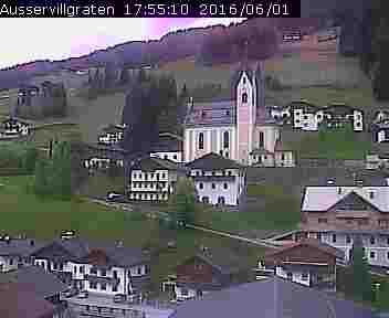Wetter und Livebild Außervillgraten, Livecam und Webcam Außervillgraten - 1287 Meter Seehöhe
