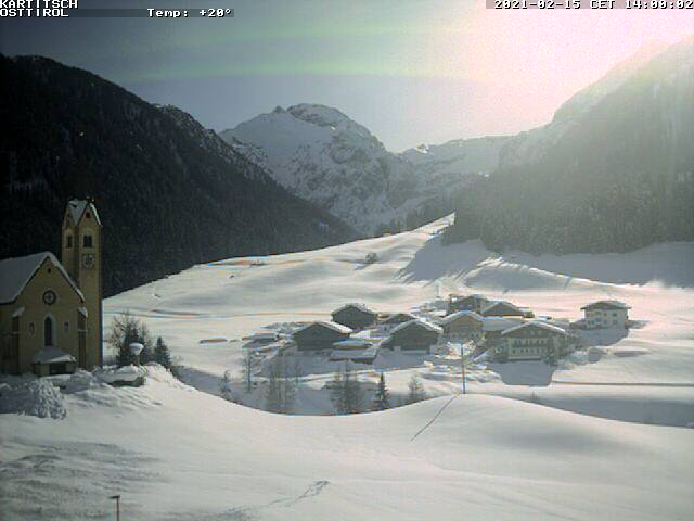 Kartitsch, Ski resort Live Cam, Austria